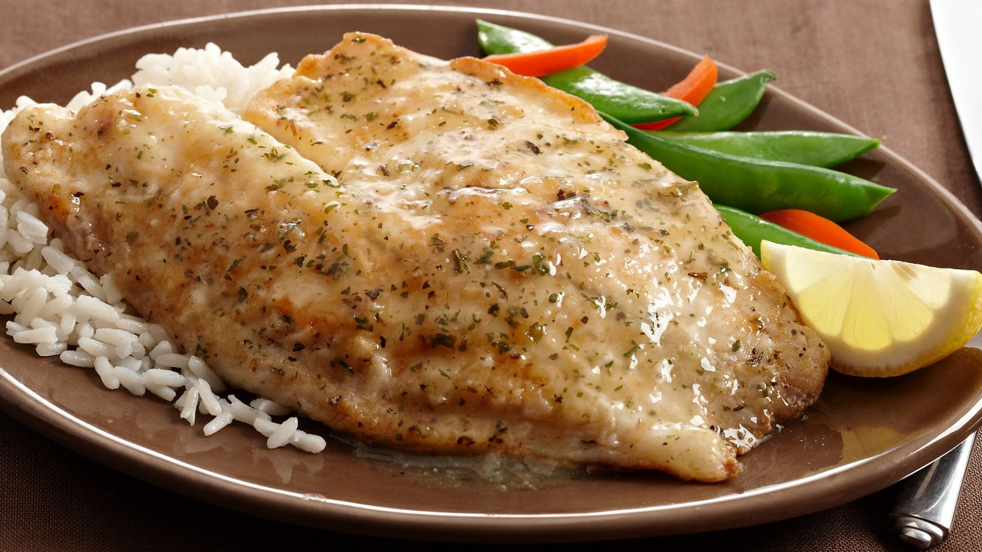 Saucy Lemon Fish Fillets - Recipe Fish Steak