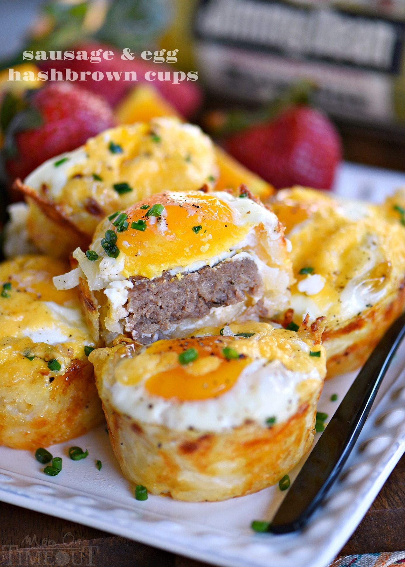 Sausage and Egg Hash Brown Cups - Breakfast Recipes With Sausage