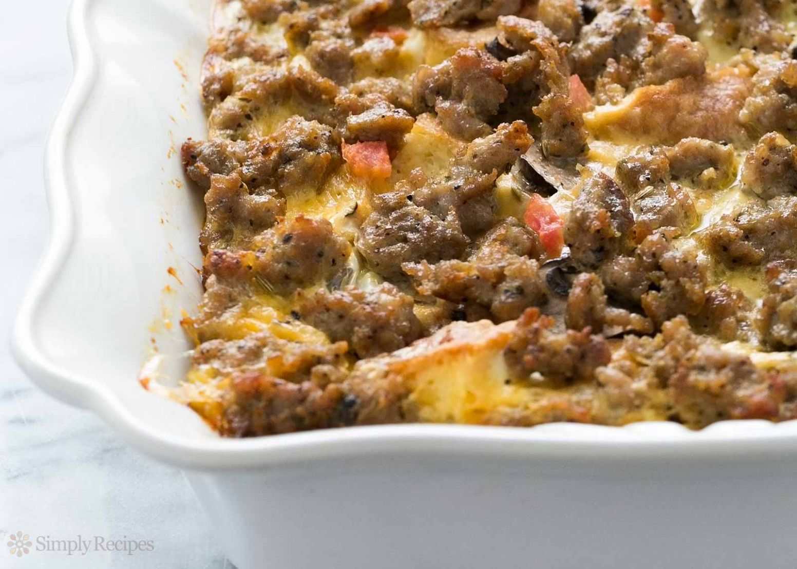 Sausage Breakfast Casserole - Breakfast Recipes With Sausage
