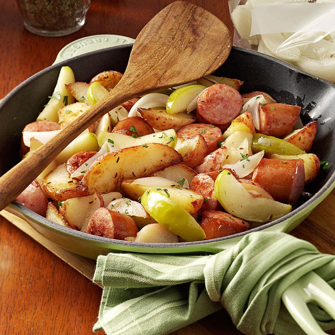 Sausage Skillet Dinner - Dinner Recipes Apple