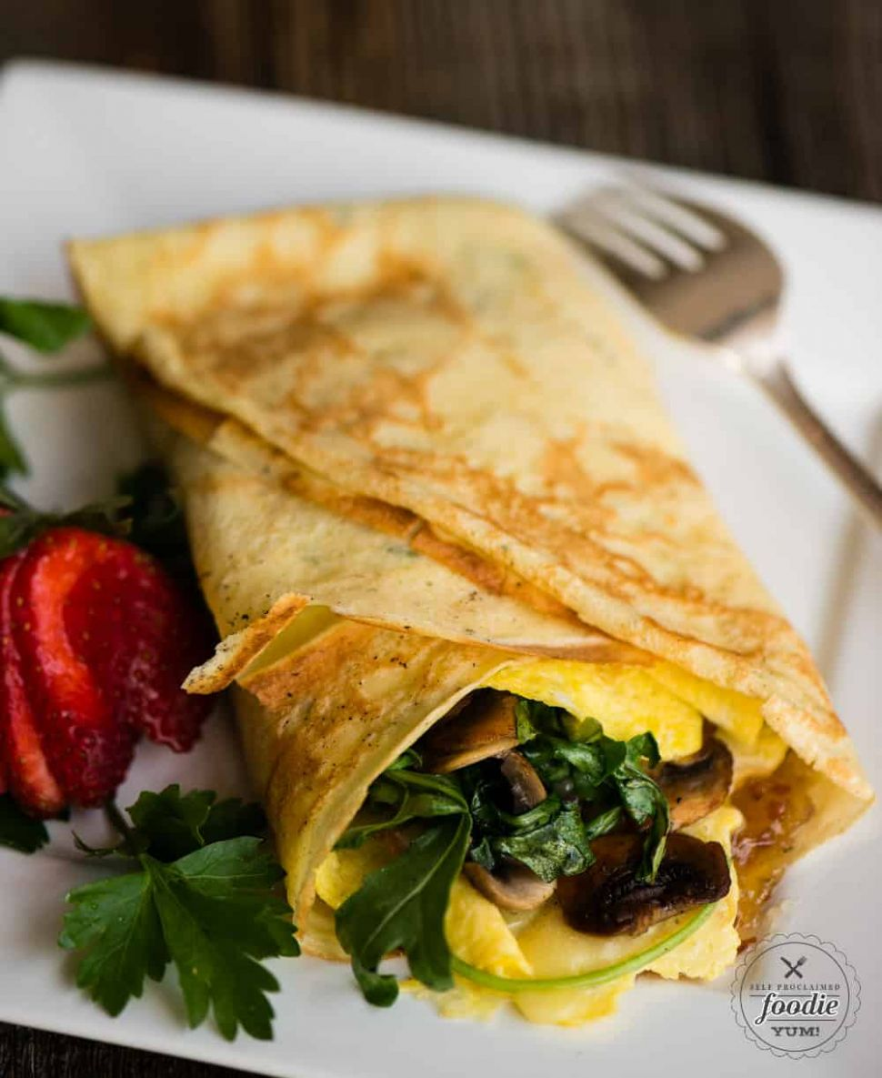 Savory Breakfast Crepes with Bourbon Bacon Jam | Self Proclaimed ..