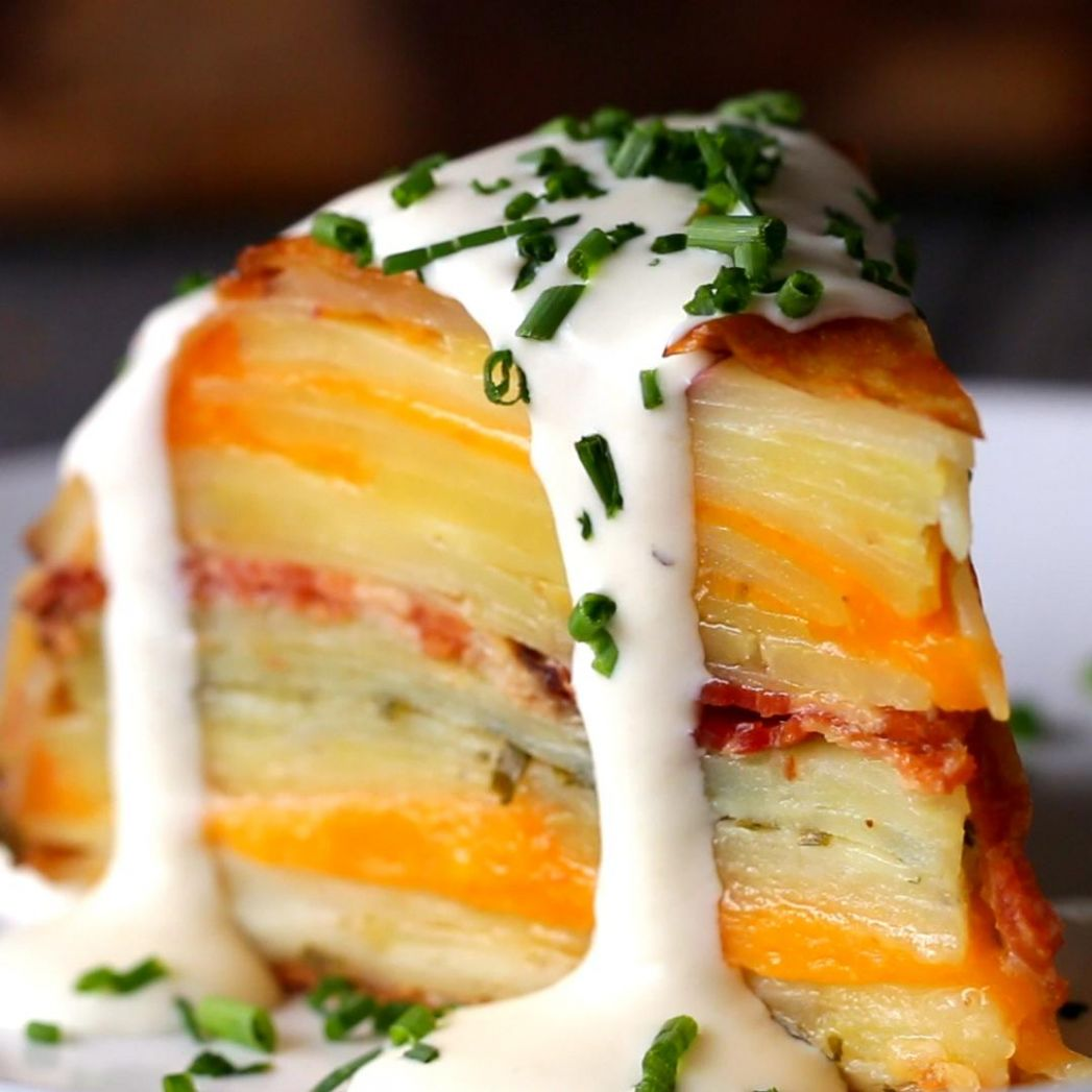 Scalloped Potato Dome Recipe by Tasty - Potato Recipes Tasty
