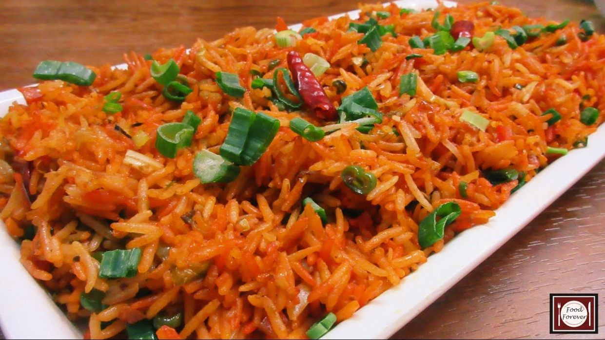 Schezwan Fried Rice Recipe in Hindi | शेजवान फ्राइड राइस | Schezwan Fried  Rice | Chinese Fried Rice - Rice Recipes Marathi