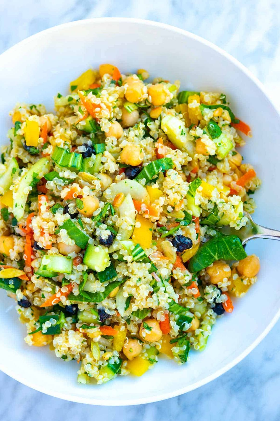 Seriously Good Quinoa Salad - Salad Recipes For Dinner