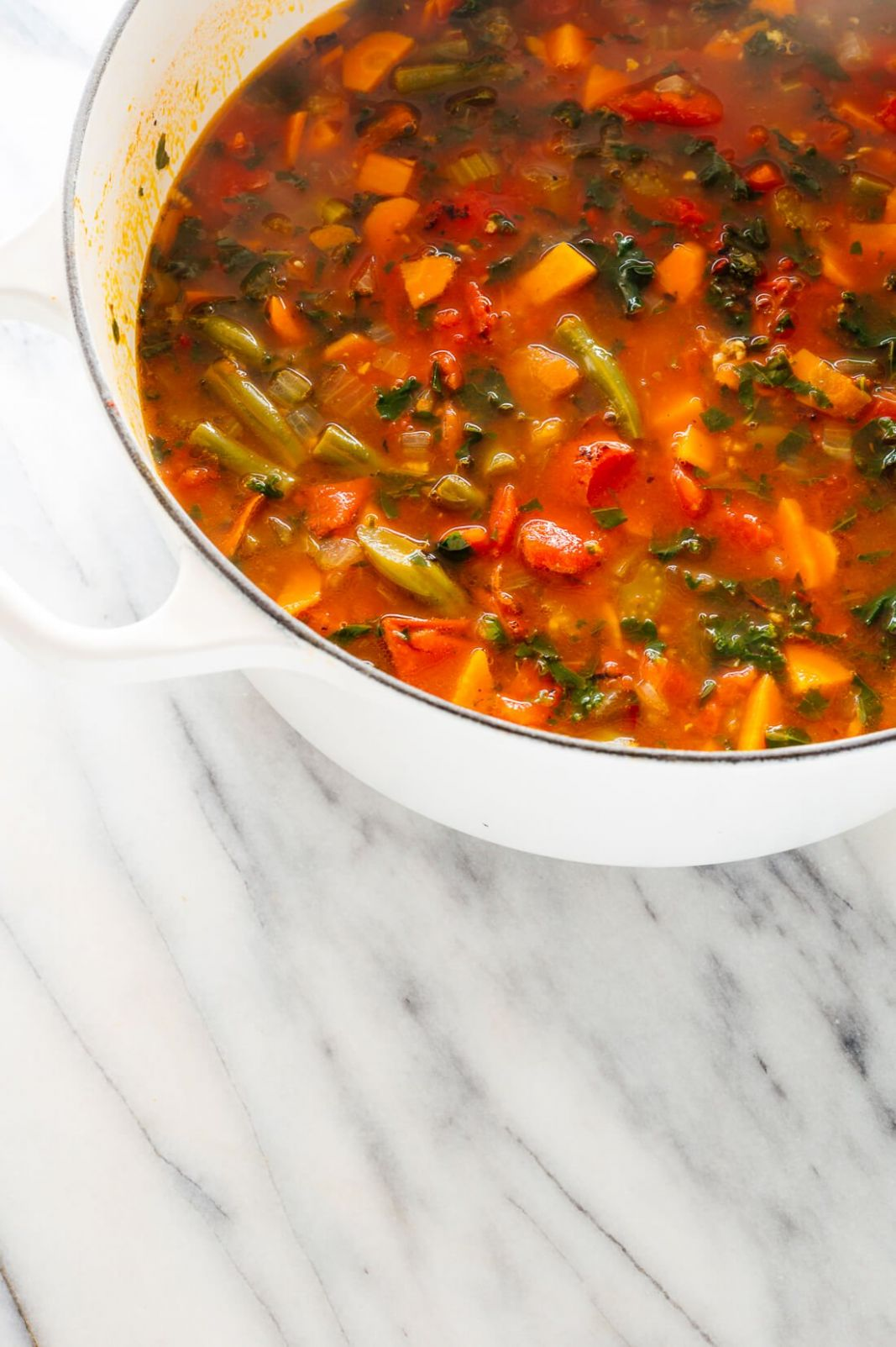 Seriously Good Vegetable Soup - Cookie and Kate - Vegan Recipes Vegetable Soup