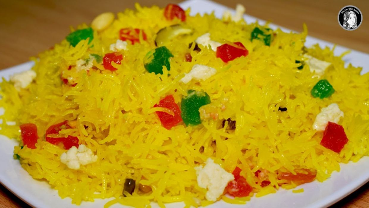 Shadiyon Wala Degi Zarda - A Perfect Zarda Recipe - Kitchen With Amna - Recipes Zarda Urdu