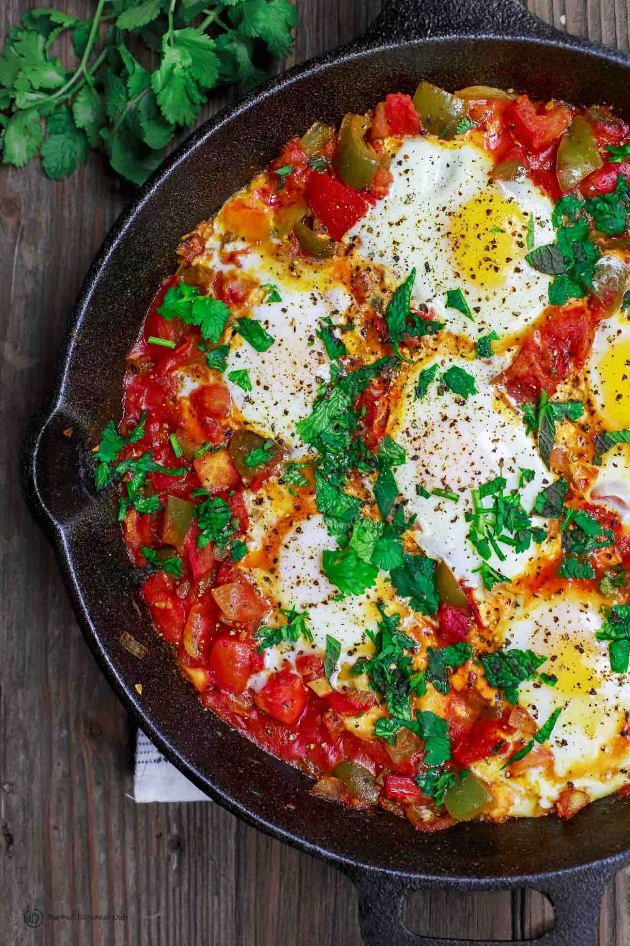 Shakshuka Recipe and Video | The Mediterranean Dish