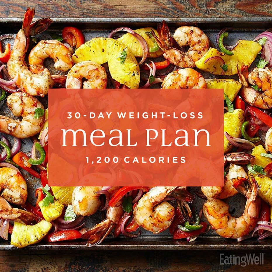 Simple 100-Day Weight-Loss Meal Plan: 10,10 Calories | EatingWell - Recipes For Weight Loss Simple