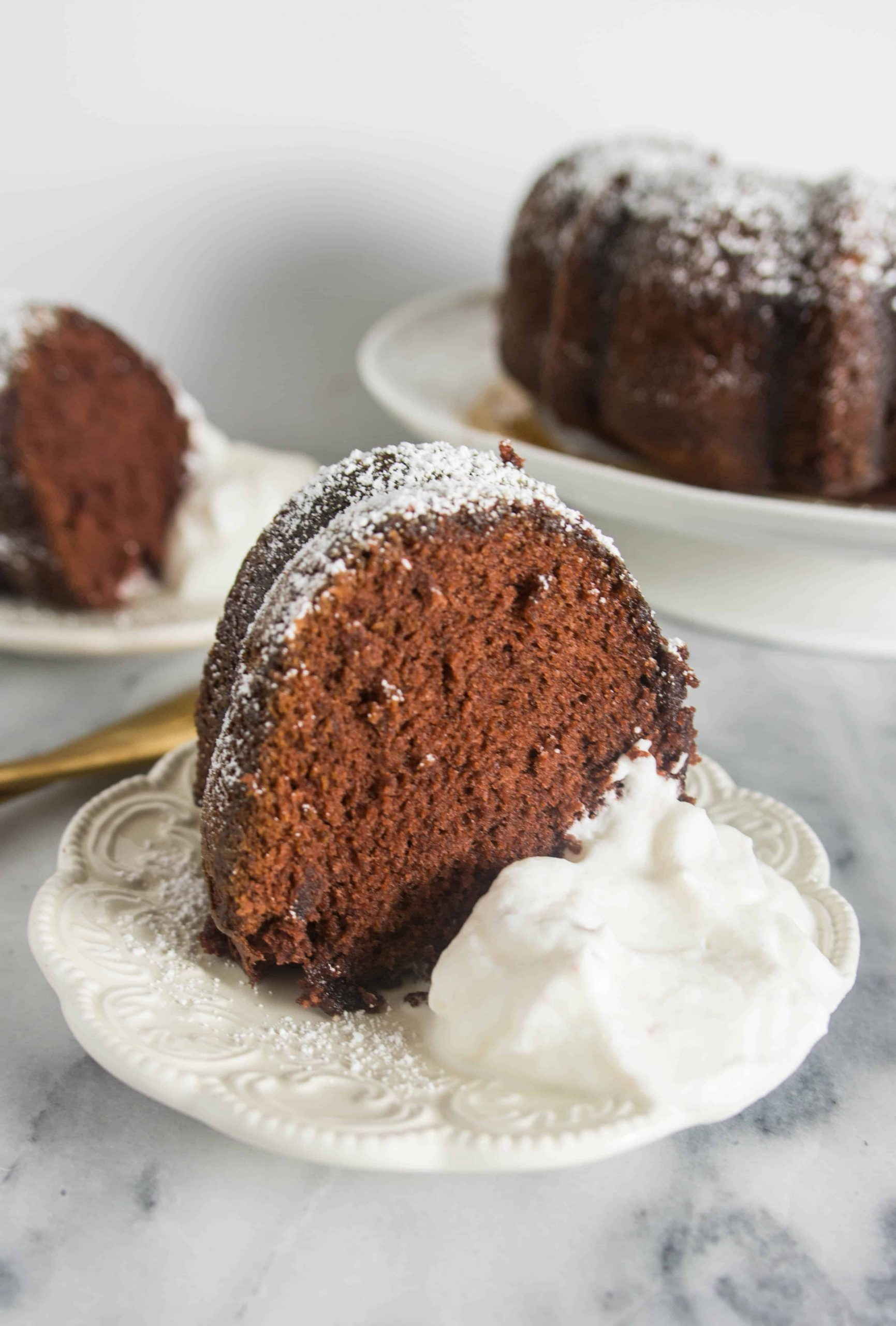 Simple + Boozy Kahlua Bundt Cake - Recipe Chocolate Kahlua Bundt Cake