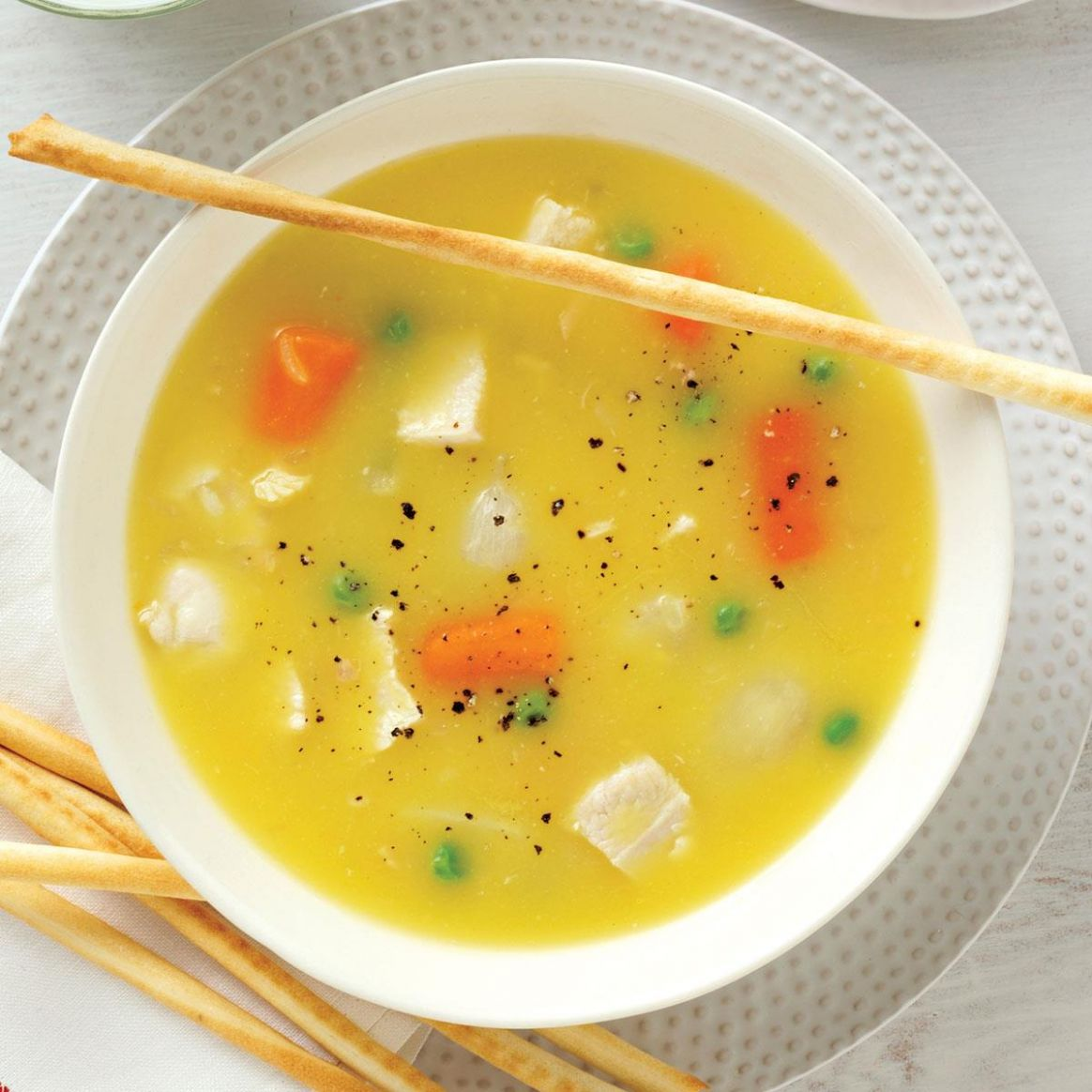 Simple Chicken Soup - Soup Recipes With Chicken Broth
