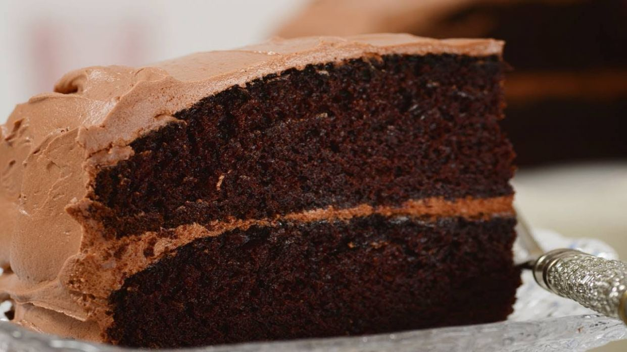 Simple Chocolate Cake Recipe & Video - Cake Recipes Easy Chocolate