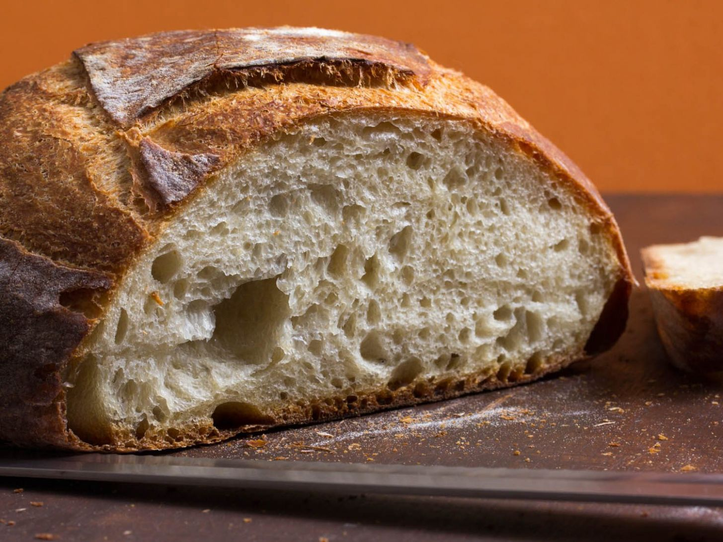 Simple Crusty White Bread Recipe