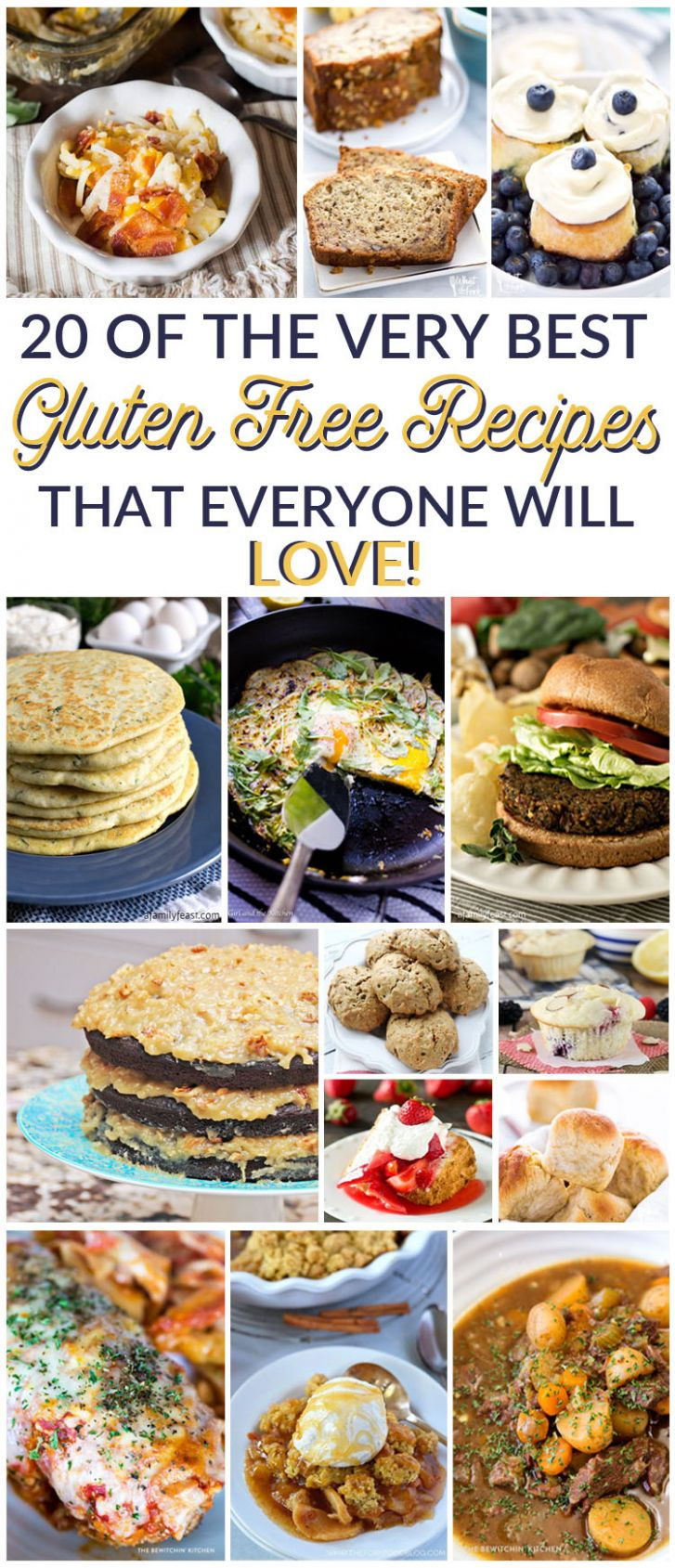 Simple + Easy Gluten Free Recipes Everyone Will Love - Easy Recipes Everyone Will Love