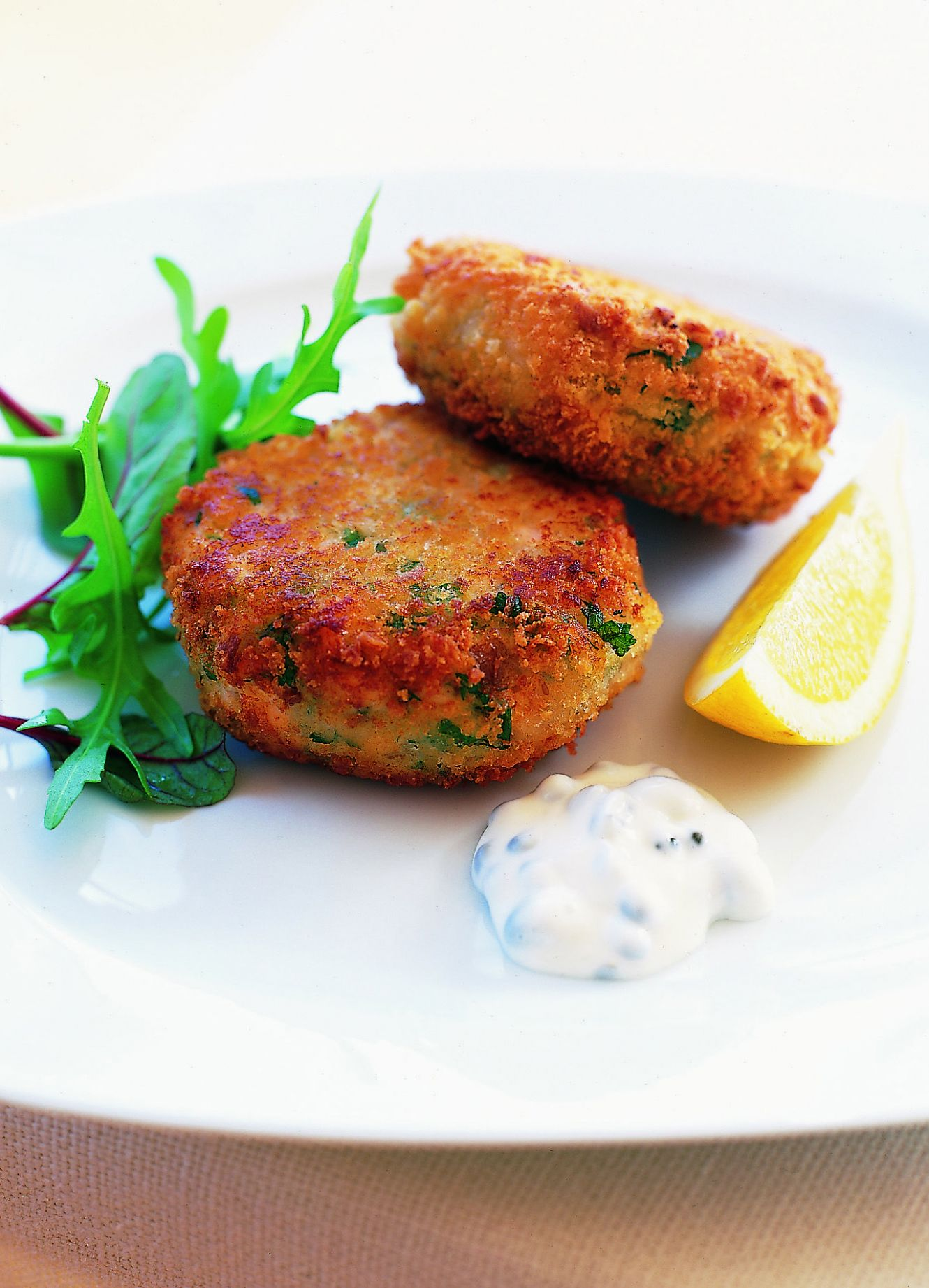Simple fish cakes - Recipes Fish Patties