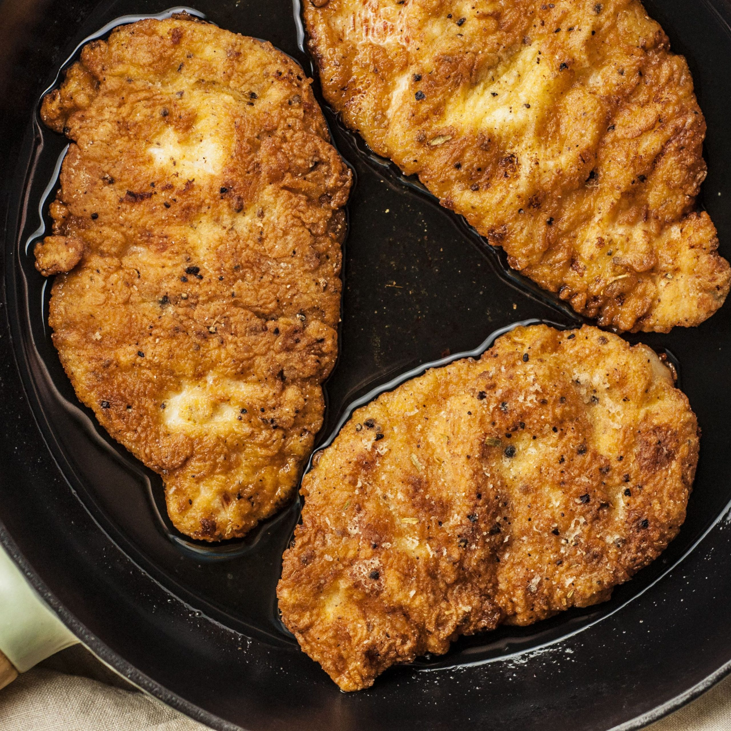 Simple Fried Chicken Breast Cutlets - Recipes Chicken Breast Pan Fried