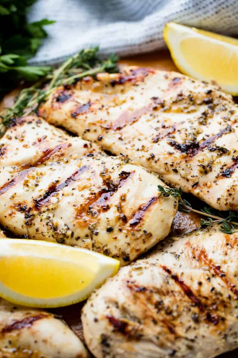 Simple Grilled Chicken Recipe - Recipes Chicken Breast On Grill