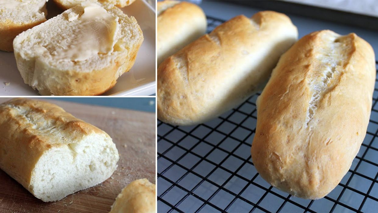 Simple Homemade French Bread - Bread Recipes In Urdu Youtube