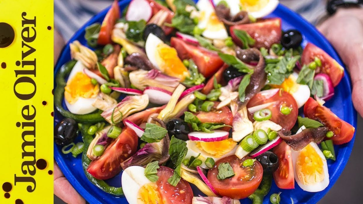 Simple salad nicoise: French Guy Cooking - Jamie Oliver Salad Recipes