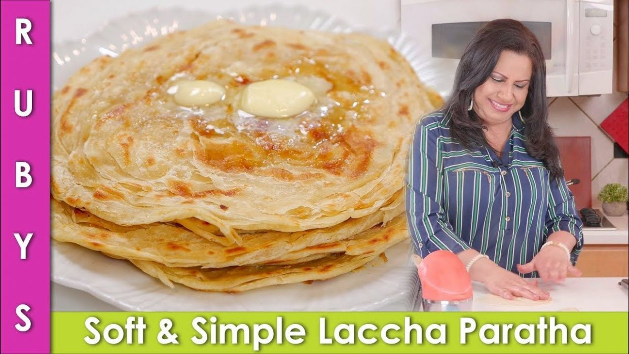 Simple Soft Laccha Paratha Recipe in Urdu Hindi - RKK - YouTube ...