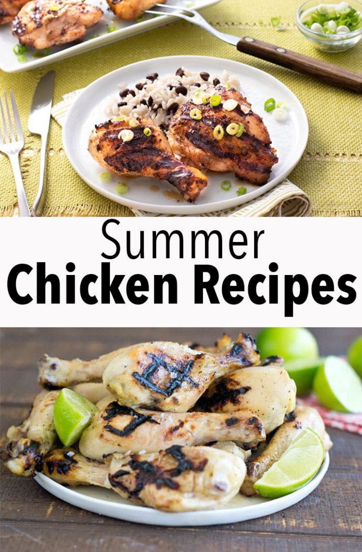 Simple Summer Chicken Recipes - Cook the Story