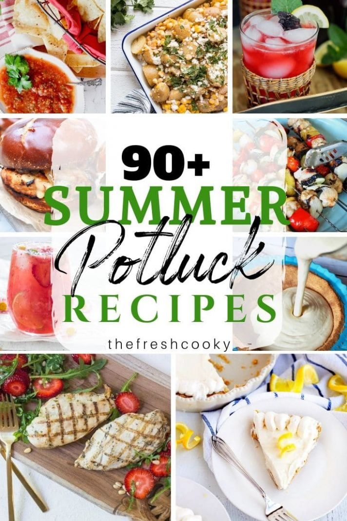 Simple Summer Potluck Recipes • The Fresh Cooky