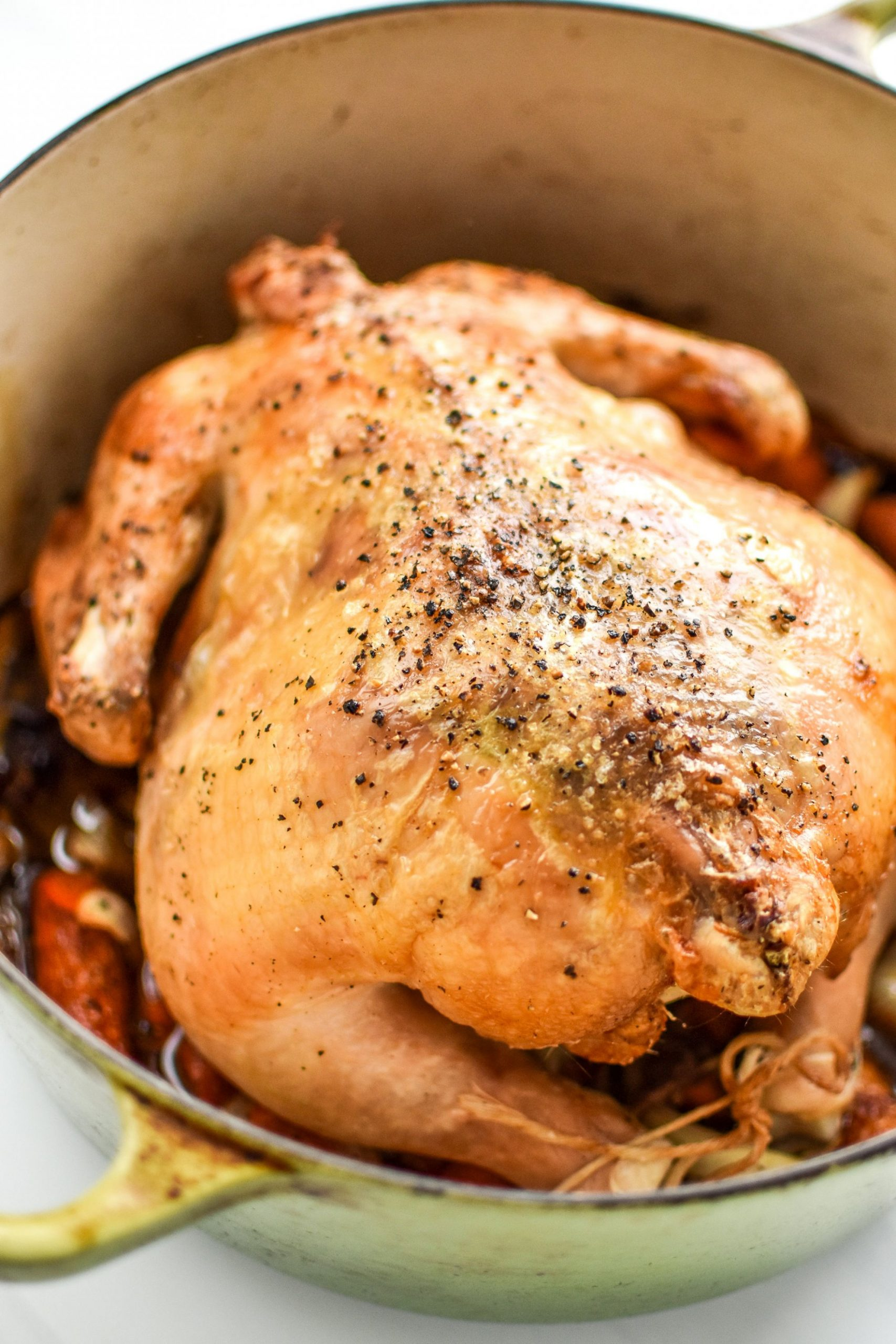 Simple Whole Roast Chicken (Whole10 & Paleo)