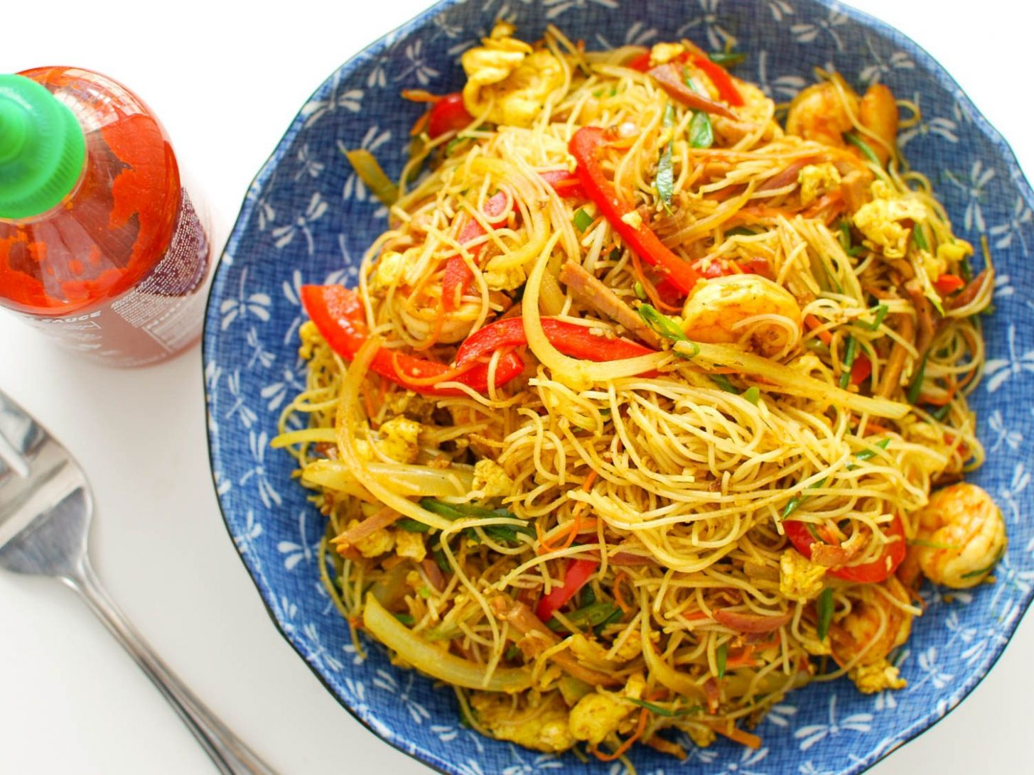 Singapore Rice Noodles Recipe - Recipes Rice Vermicelli Noodles