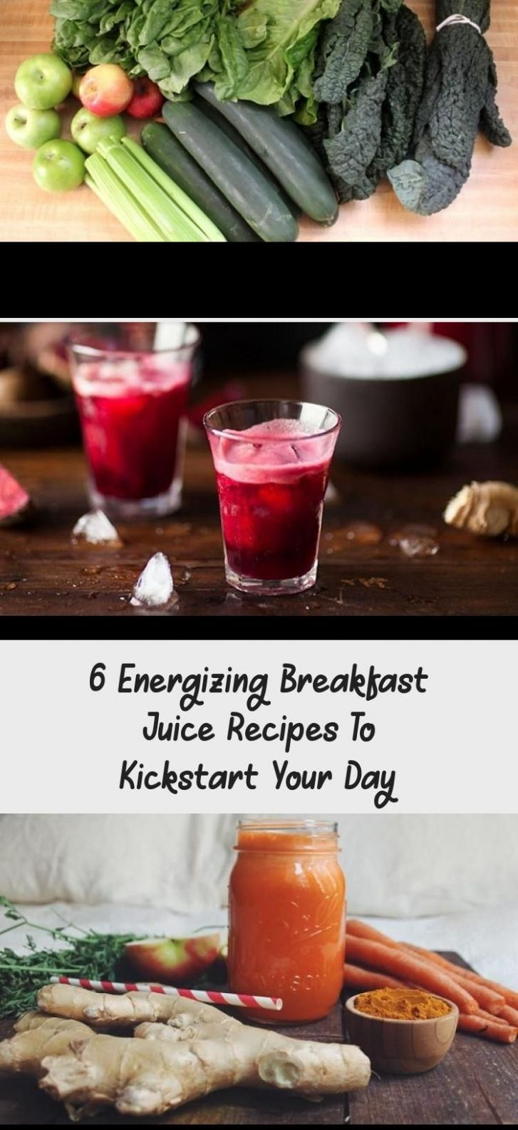 Six delicious and energizing breakfast juice recipes to help ...