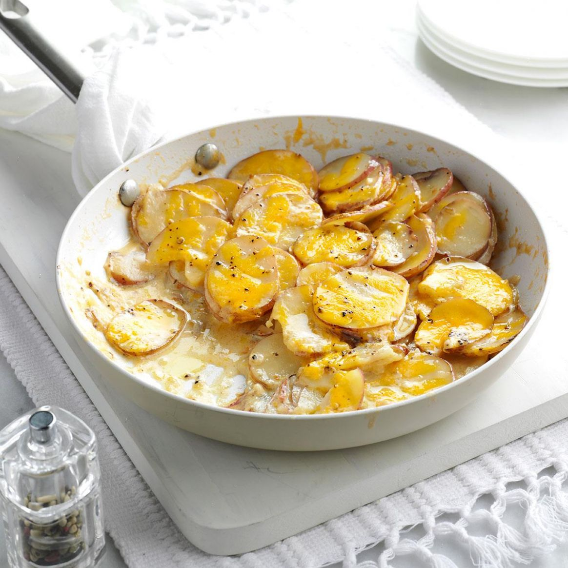 Skillet Scalloped Potatoes - Potato Recipes On Stove
