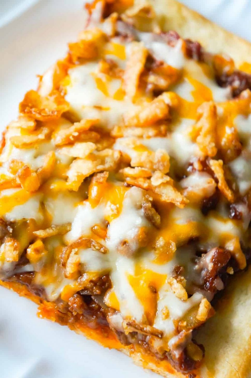 Sloppy Joe Pizza - This is Not Diet Food - Recipes With Pizza Dough And Ground Beef