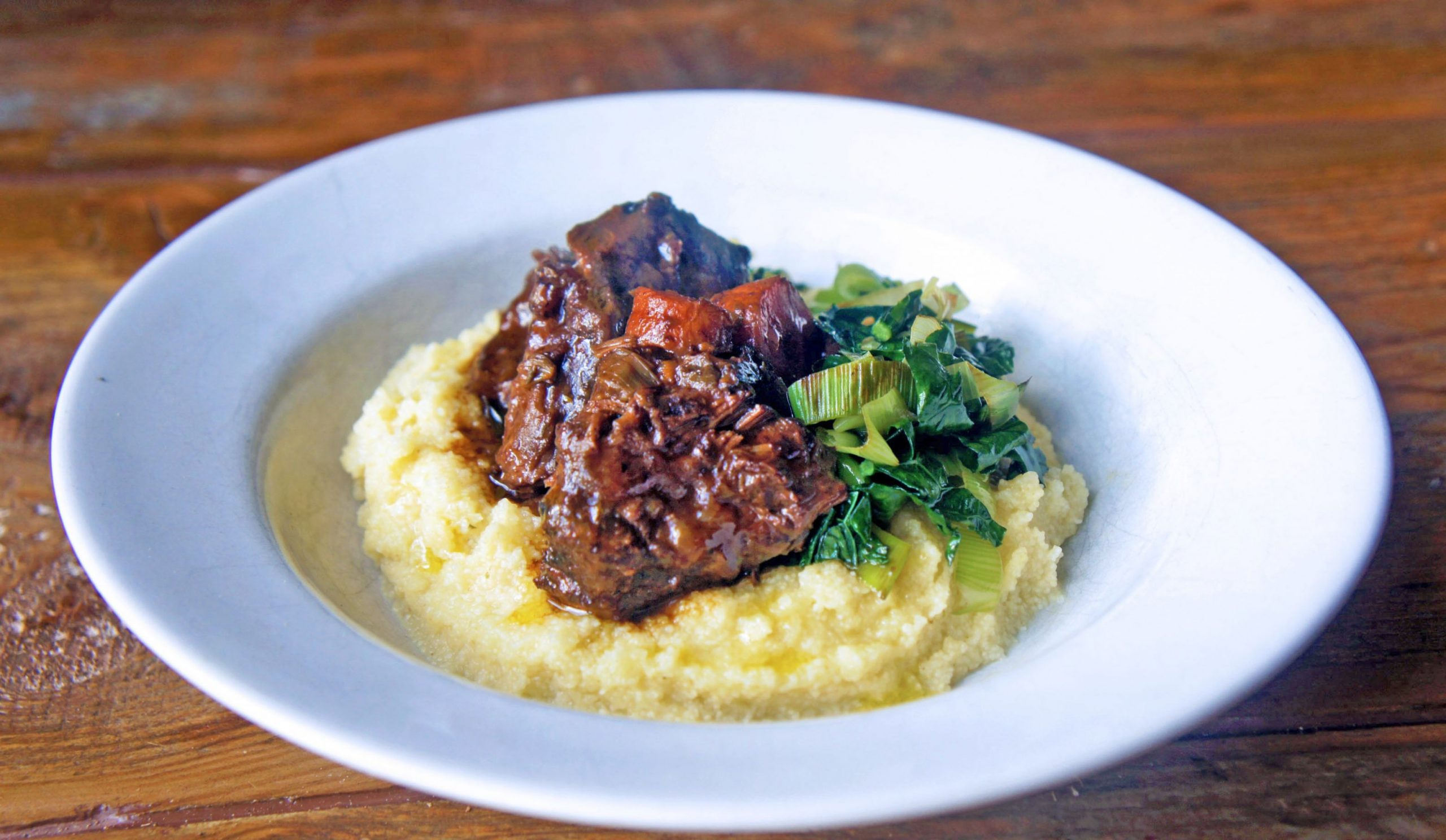 Slow-cooked braised ox cheeks in red wine - Recipes Beef Cheeks