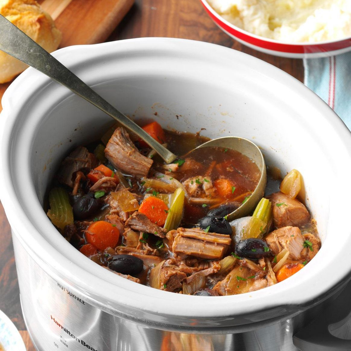 Slow-Cooked Pork Stew - Recipes Using Pork Stew Meat