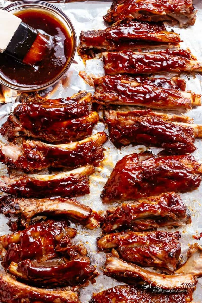 Slow Cooker Barbecue Ribs - Recipes Pork Back Ribs