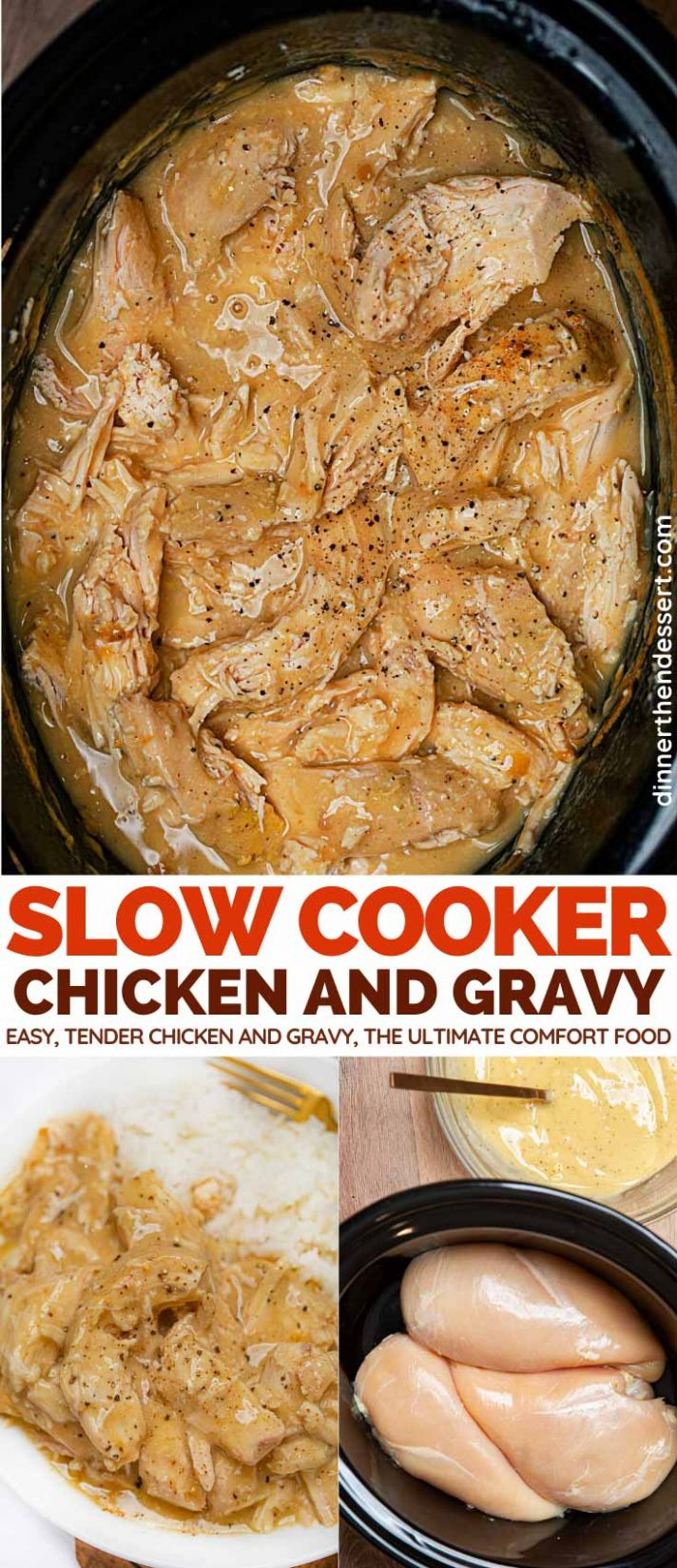 Slow Cooker Chicken Breast with Gravy
