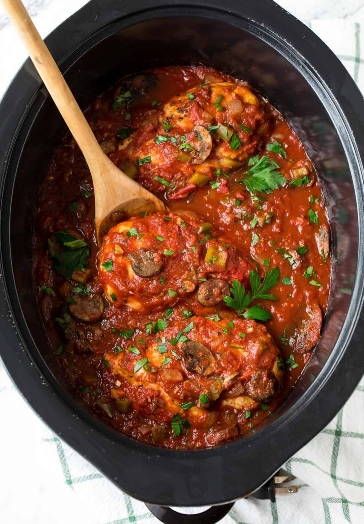 Slow Cooker Chicken Cacciatore - Recipes Chicken Breast Slow Cooker