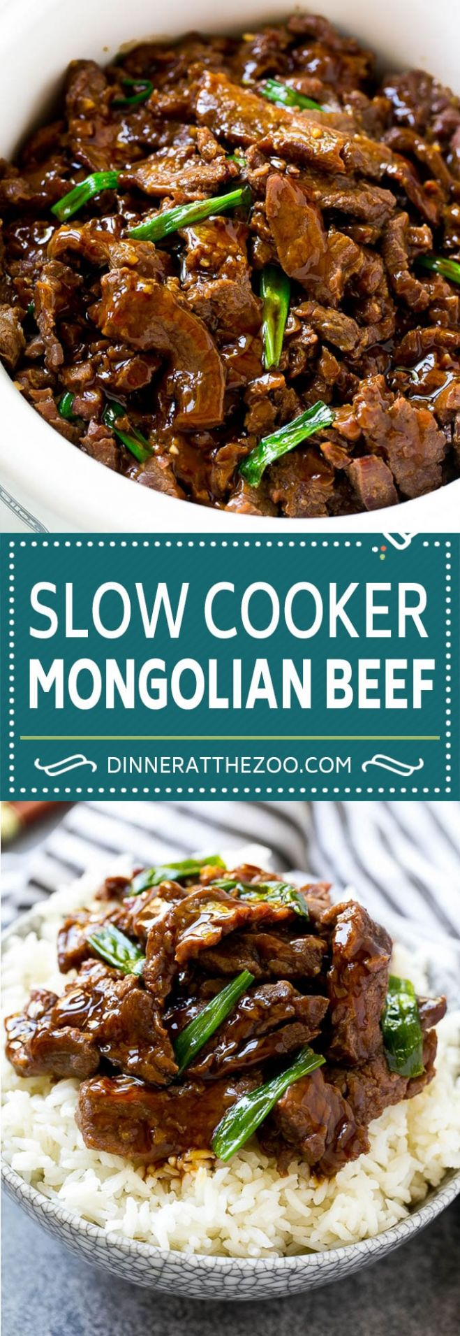 Slow Cooker Mongolian Beef - Dinner at the Zoo - Recipes Beef In Crock Pot