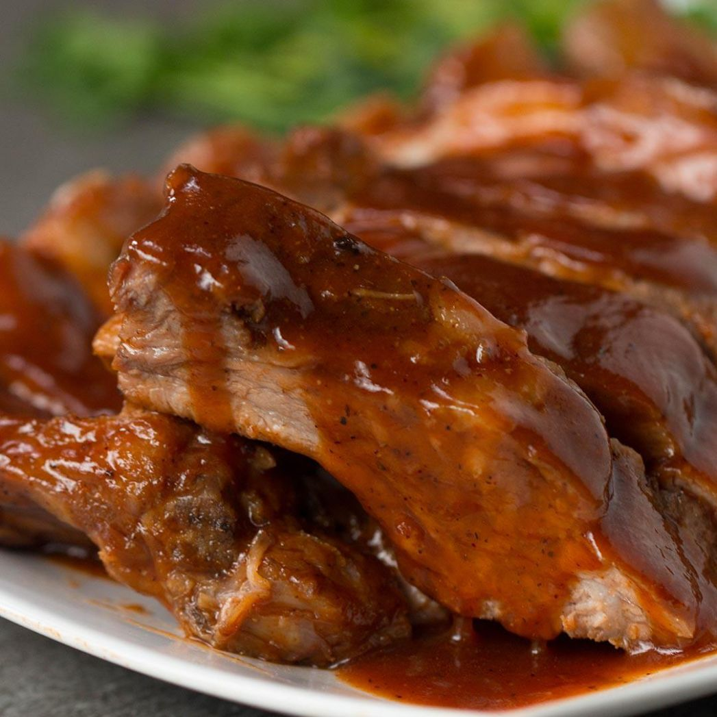 Slow-Cooker Pineapple Baby Back Ribs Recipe by Tasty