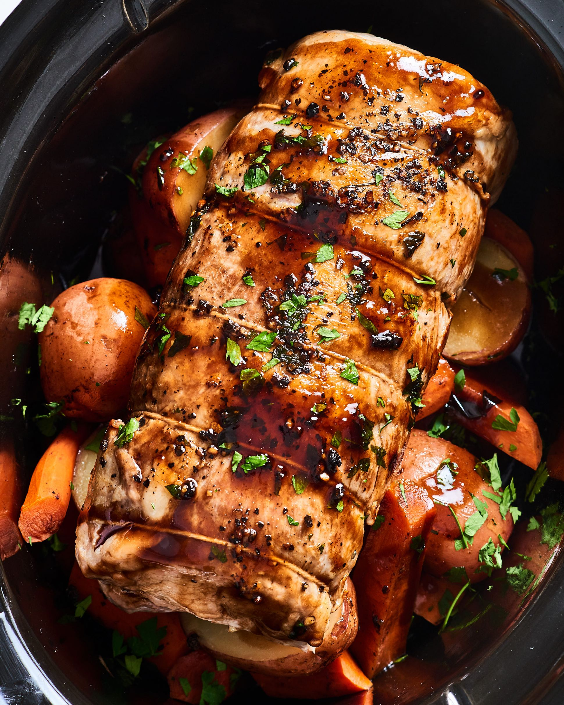 Slow Cooker Pork Loin - Recipes Pork Roast Crock Pot