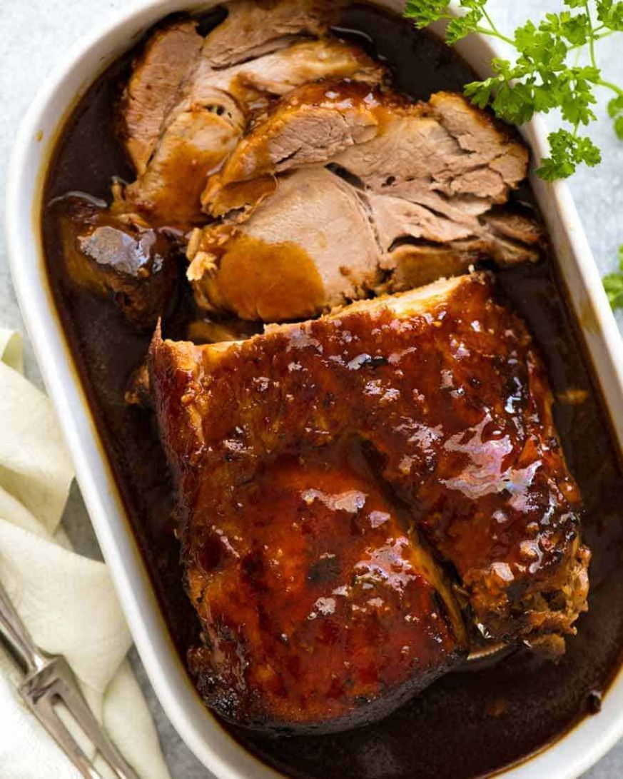 Slow Cooker Pork Loin Roast OR Pork Shoulder - Recipes Pork Roast Crock Pot