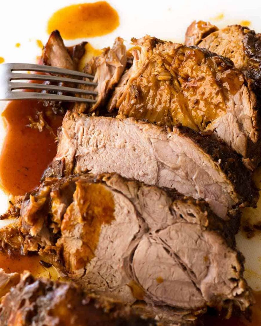 Slow Cooker Pork Loin Roast | RecipeTin Eats - Recipes Pork Roast Crock Pot