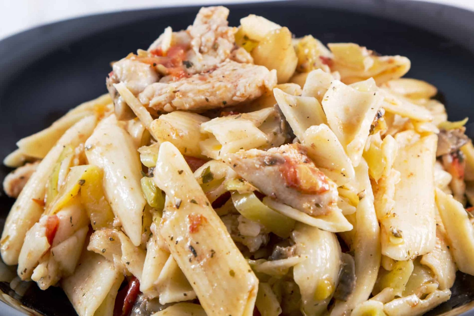 Smoked Chicken Salad With Penne Pasta