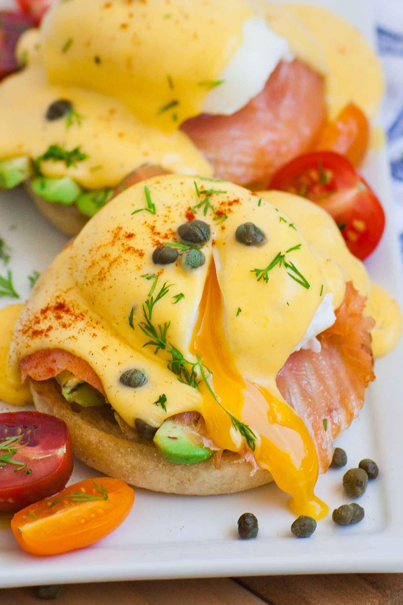 Smoked Salmon Eggs Benedict (video) - Recipes Egg Benedict