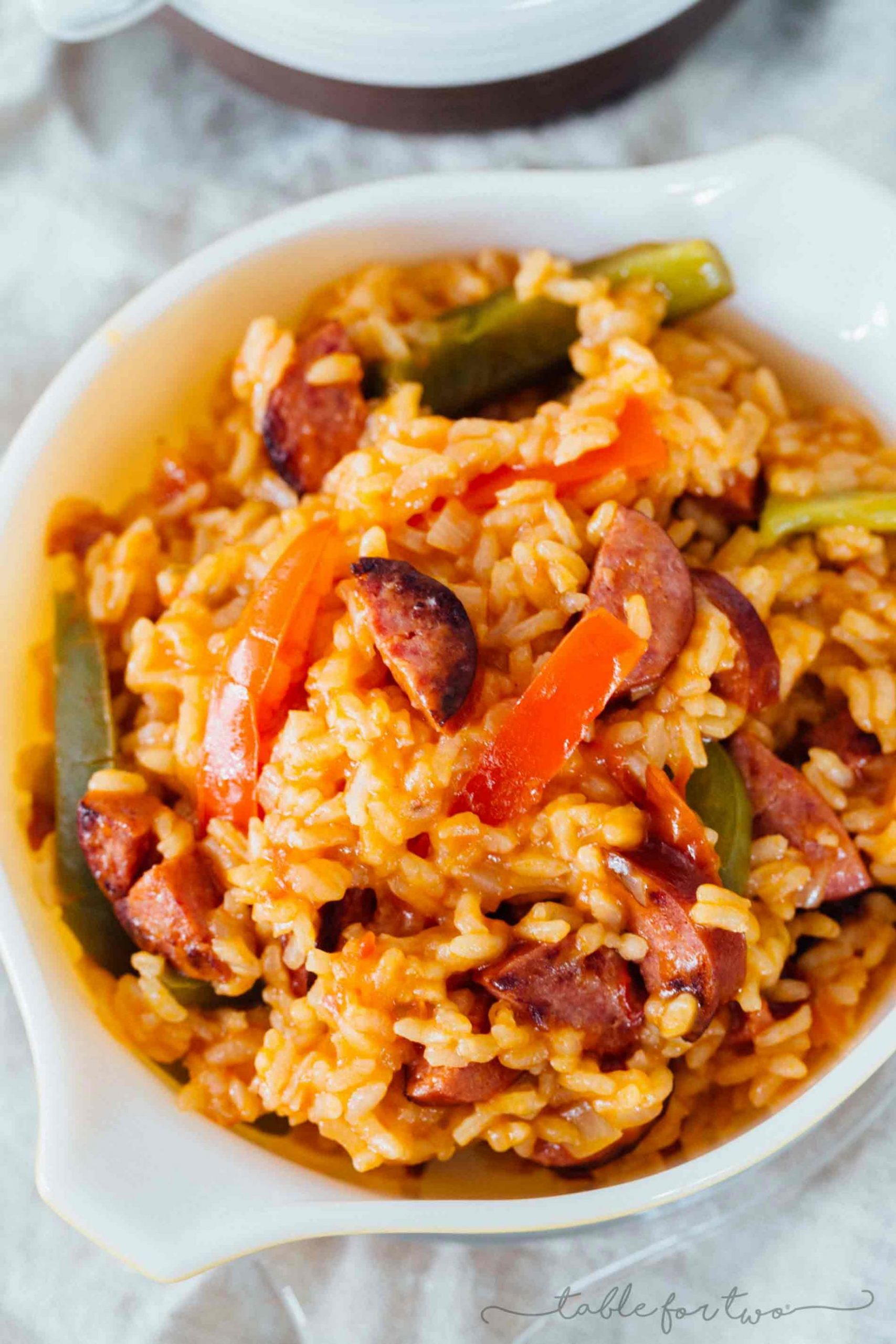Smoked Sausage and Peppers with Rice - Recipes With Summer Sausage