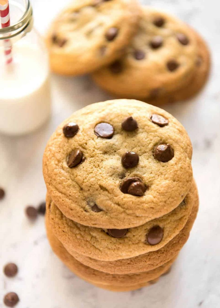 Soft Easy Chocolate Chip Cookies - Recipes Chocolate Chip Cookies