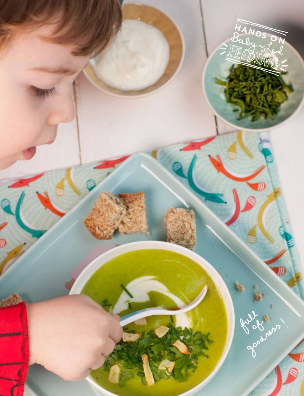 Soup for Little 'Souper' Heros - Soup Recipes For Babies