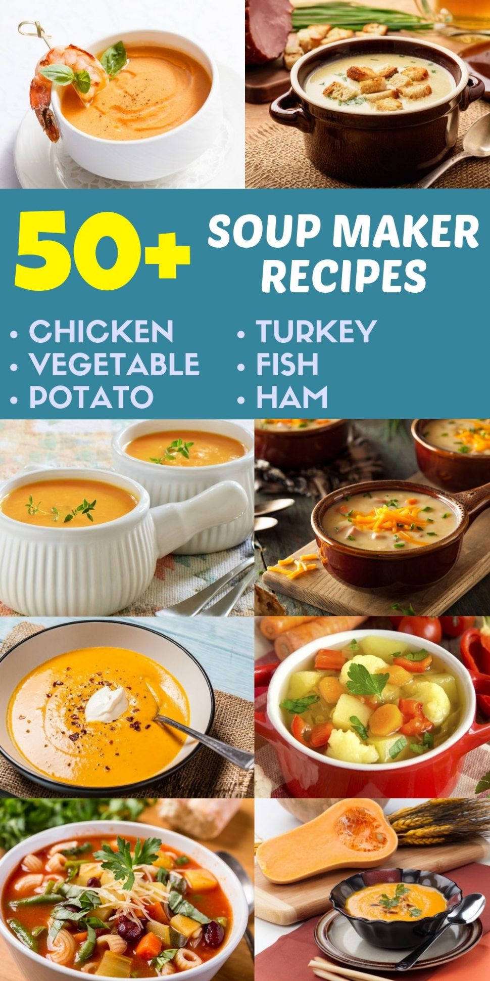 Soup Maker Recipes For Beginners | Tomaten und Suppen
