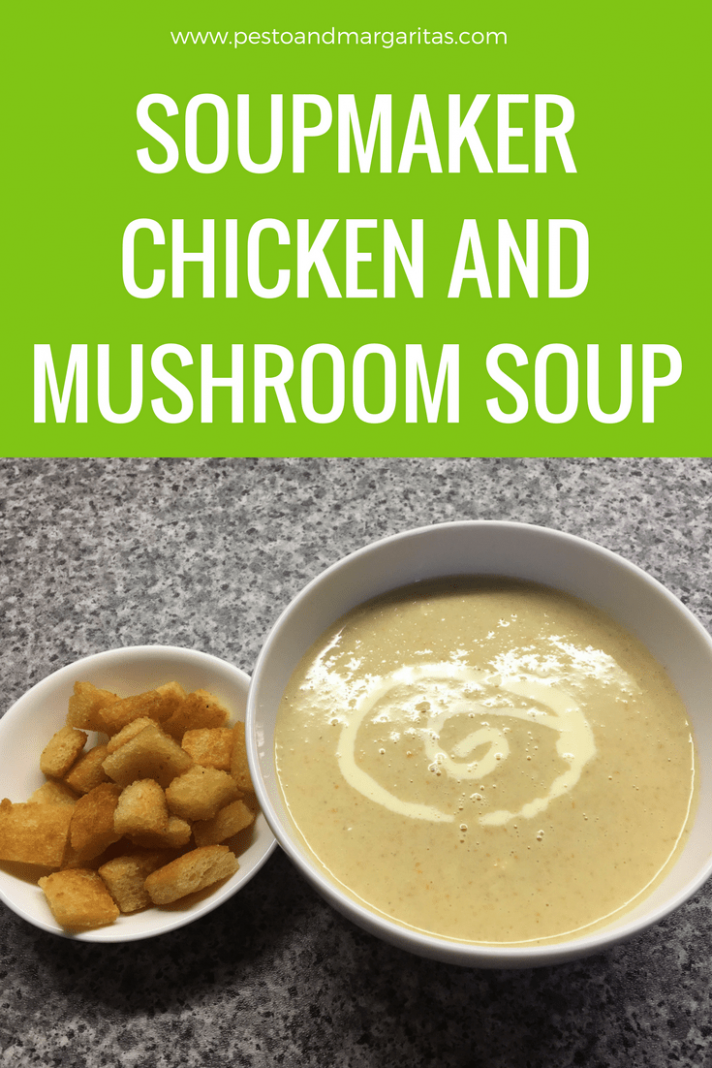 Soupmaker Chicken & Mushroom Soup - Recipes Soup Maker