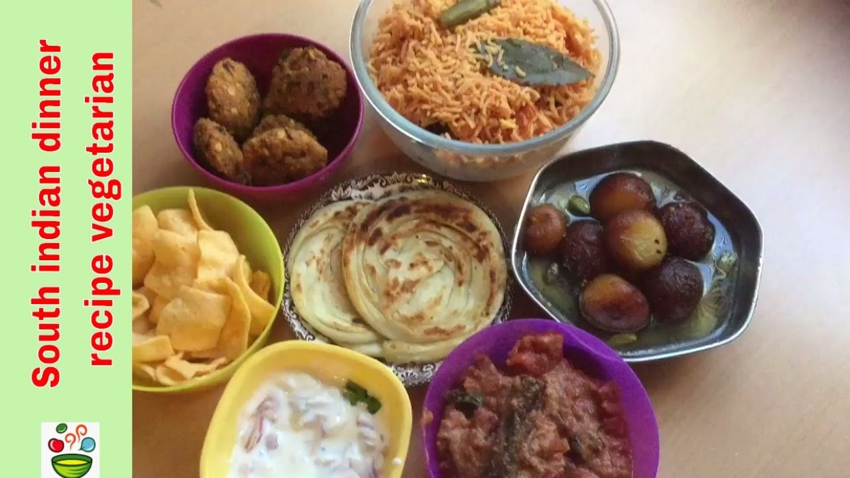 South indian dinner recipe vegetarian in tamil