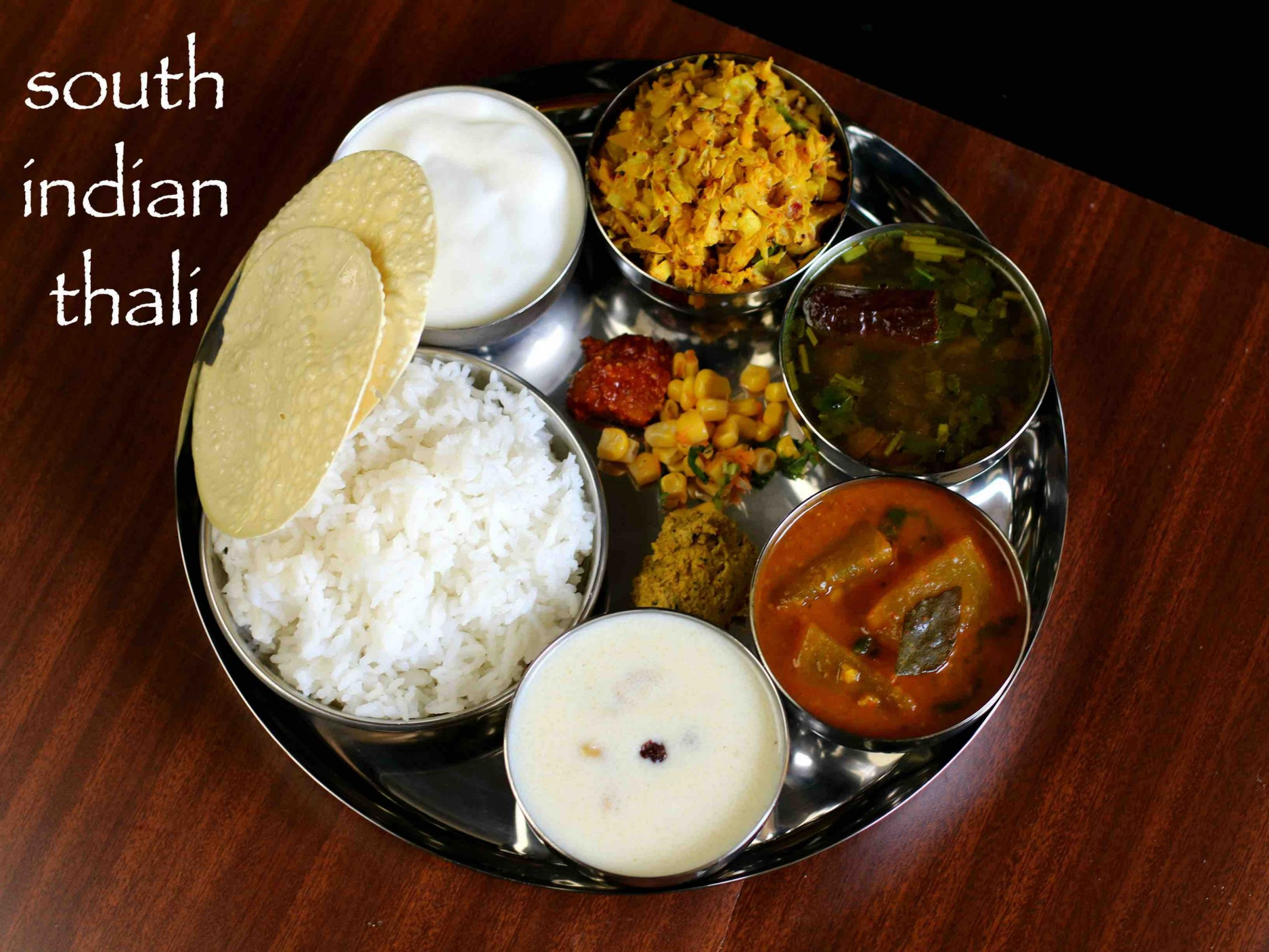 south indian thali recipe | veg south indian lunch menu ideas - Dinner Recipes South Indian