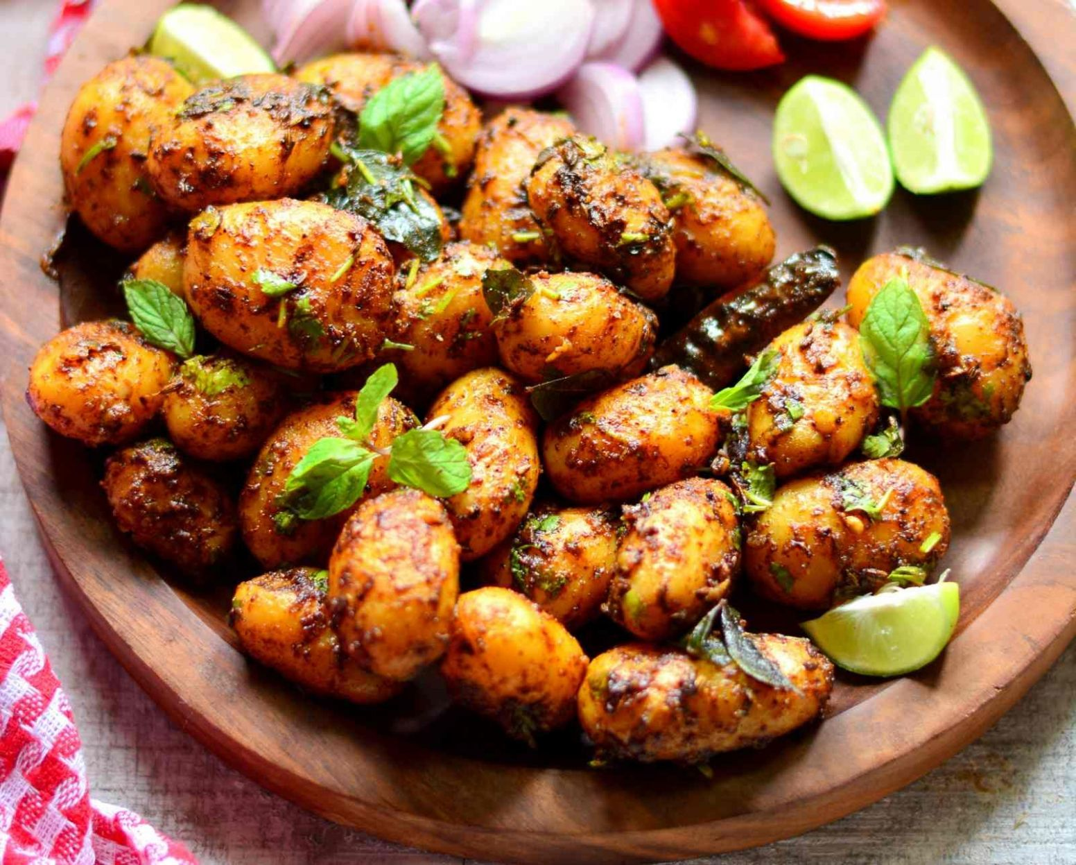 Spicy Baby Potatoes - Potato Recipes Hindi